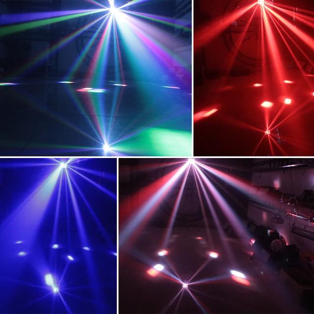 ALIEN DMX RGBW LED projecteur Laser projecteur stroboscope 3 en 1 Disco DJ effet déclairage de scène fête danse mariage papillon lumière