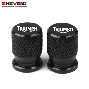 For Triumph Daytona 675 Street Triple/R Tiger Explorer 1200 800 XC Universal Wheel Tire Valve Stem Caps CNC Airtight Covers(China)