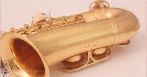 Image 2 - Nieuwe hoge kwaliteit instrument De altsax Golden altsaxofoon en case