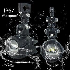 Image 4 - Motocykl przeciwmgielne światła dla BMW R1200GS ADV F800GS F700GS F650GS K1600 światło pomocnicze LED światła przeciwmgielnego montaż lampa do jazdy 40W