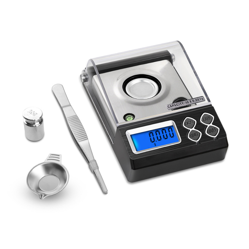 0.001 <font><b>Gram</b></font> Precision Jewelry Electronic Digital Balance Weight Pocket <font><b>Scale</b></font> image