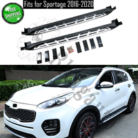 Fits for KIA Sportage 2016 2017 2018 2019 2020 2Pcs left right running board side steps nerf bar car pedal side stairs|Nerf Bars & Running Boards| |  -