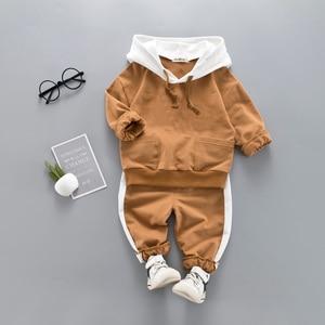 Image 3 - Crianças roupas primavera outono meninos agasalho da criança meninas conjunto de roupas crianças meninos ternos para meninas conjuntos de roupas