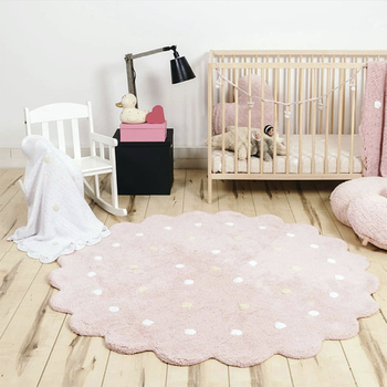 Dots Play Mat Rug Baby Gym Activity Games Carpet Rug Children Kids Floor Carpets for Kindergarden Baby Room decoration