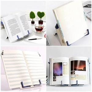 Portable Reading Stand Books Document Recipe Shelf Folding Cookbook Tablet Holder Organizer Rest Rack Office School Supplies(China)