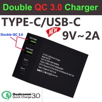 Doppio QC 3.0 ricarica rapida 2 porte Usb Carregador Multi cellulare rimorchio caricabatterie rapido da parete per Iphone Xiaomi Portatil Cargador