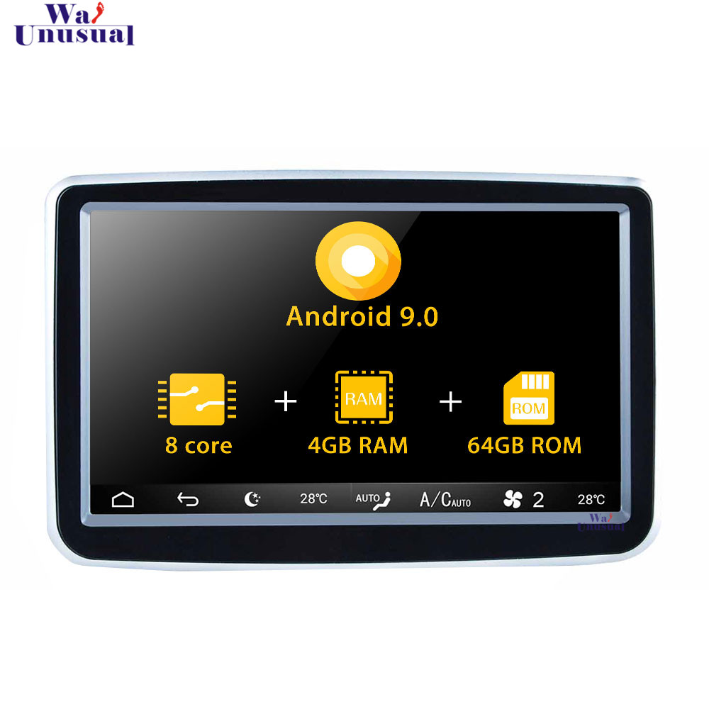 <font><b>Android</b></font> 9.0 8'' <font><b>Autoradio</b></font> For Mecerdes Benz B/CLA/GLA 2014 - 2018 Stereo Auto Car Radio GPS Navigation Player <font><b>DVD</b></font> Video <font><b>1Din</b></font> image