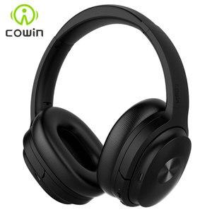 Image 1 - Cowin SE7 aktif gürültü iptal kablosuz Bluetooth kulaklık katlanabilir aşırı kulak için taşınabilir kulaklık telefonları müzik apt x
