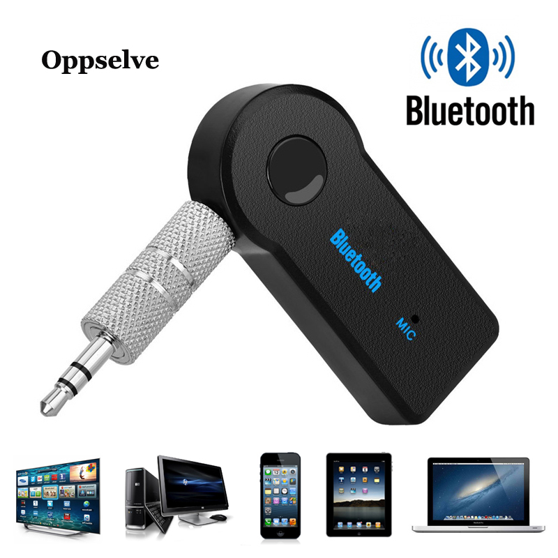 Stereo Audio AUX Music For MP3 Speaker Headphone Car Hands Free Call Bluetooth Receiver Adapter Wireless Transmitter 3.5mm Jack