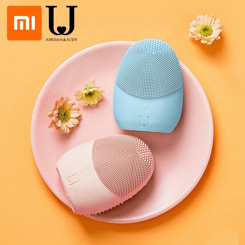 XIAOMI Mijia JORDAN&JUDY Cleansing Instrument Face Deep Cleanse Sonic Facial Cleansing Tools IPX6 Waterproof Skin Care Massager
