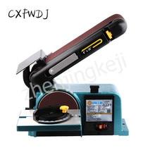Water-Cooled Sharpener Sharpener Desktop Belt Machine Belt Sanding Machine Woodworking Polishing Machine Metal belt цена и фото