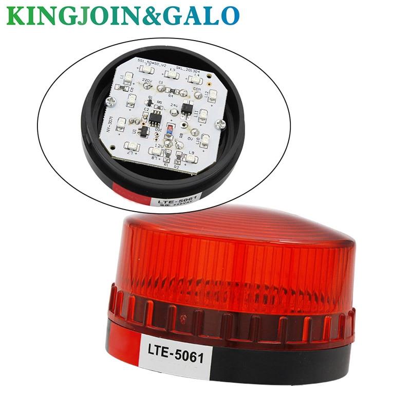 LED Alarm Lamp Voiced Four Co12V/24V/110V/220V