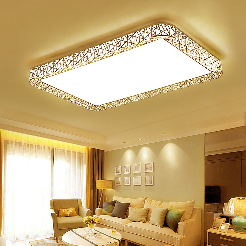 Bedroom Lamps LED Ceiling Lamp Square Rectangular Modern Minimalist Ceiling Balcony Living Room Restaurant Light