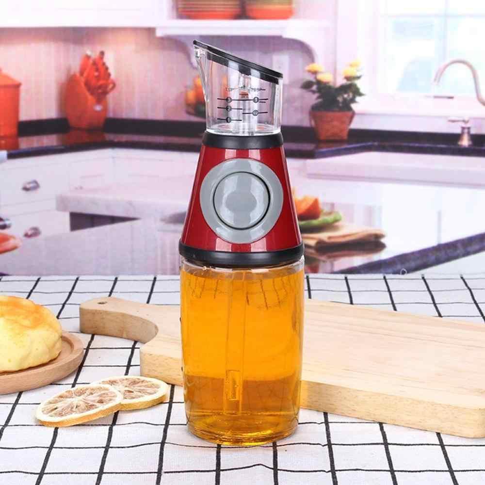 غير بالتنقيط زجاجة زيت أدوات المطبخ 250 مللي زجاج المطبخ زيت زيتون موزع الخل صب زجاجة زجاجة المطبخ مانعة للتسرب أدوات المائدة