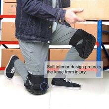 1 пара 30x20x13 см длинный прочный силиконовый рабочий наколенник Строительная защита колена хороший шок и амортизация наколенники