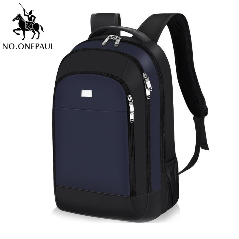 NO.ONEPAUL Waterproof Travel Backpack Men Women Backpack Outdoor Sports Bag Teenagers Business Laptop Backpacks Best Quality