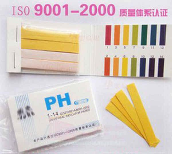 Тесты ing инструменты 80 полоски/пакет pH Тесты полоски PH измеритель PH диапазон контроллера 1-14st индикатор щелочной кислоты лакмусовая Бумага воды почва