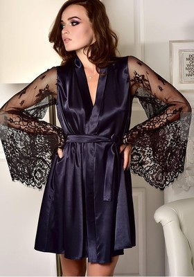 2019 Silk Dress Sleepwear Sets Lace Sexy Lingerie Mini Dresses Mujer Robes Sex Love Pajamas Erotic Underwear Exotic Appeal Gwon