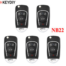 5 PCS,Multi functional Universal Remote สำหรับ KD900 KD900 + URG200 KD X2 NB Series, KEYDIY NB22 (ฟังก์ชั่นทั้งหมดชิป One Key)