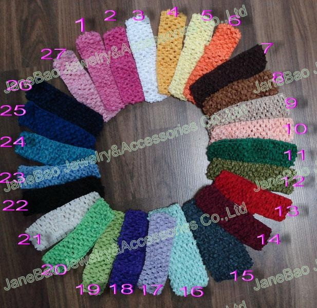 200 шт коркер повязки для волос Смешанные сотни цветов коркер повязки Красочные
