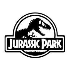 Nero/argento Cool Dinosaur Jurassic Park adesivi per auto sulle auto vinile moto Car-Styling Decor accessori C393