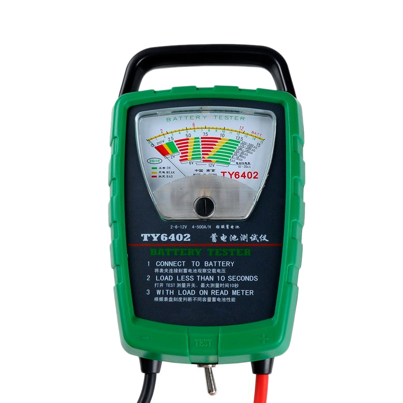 Ty6402 500A 2V 6V 12V Automotive/Car Battery Tester/Alternator/Cranking Check Easy To Use