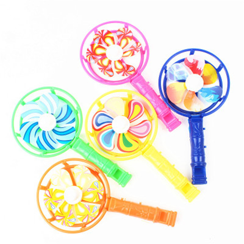 10pcs Children's Toys Plastic Whistle Windmill Festival Birthday Party Gifts Children's School Gifts Toys Kids Party Gifts