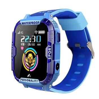 Hot-4G Kids Smart Watch GPS LBS Tracker WIFI Location SOS Call Camera Children HD Video Call Waterproof Smart Watch for IOS