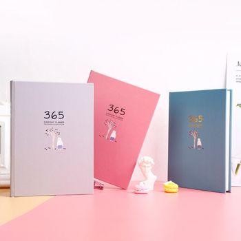 لطيف دفتر قرطاسية 365 مخطط الأسبوعية الشهرية اليومية يوميات مخطط الدفاتر المجلات الأعمال مكتب اللوازم المدرسية C90C