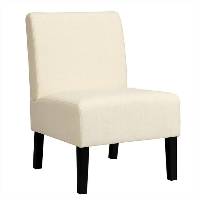 Armless Accent Leisure Chair  1