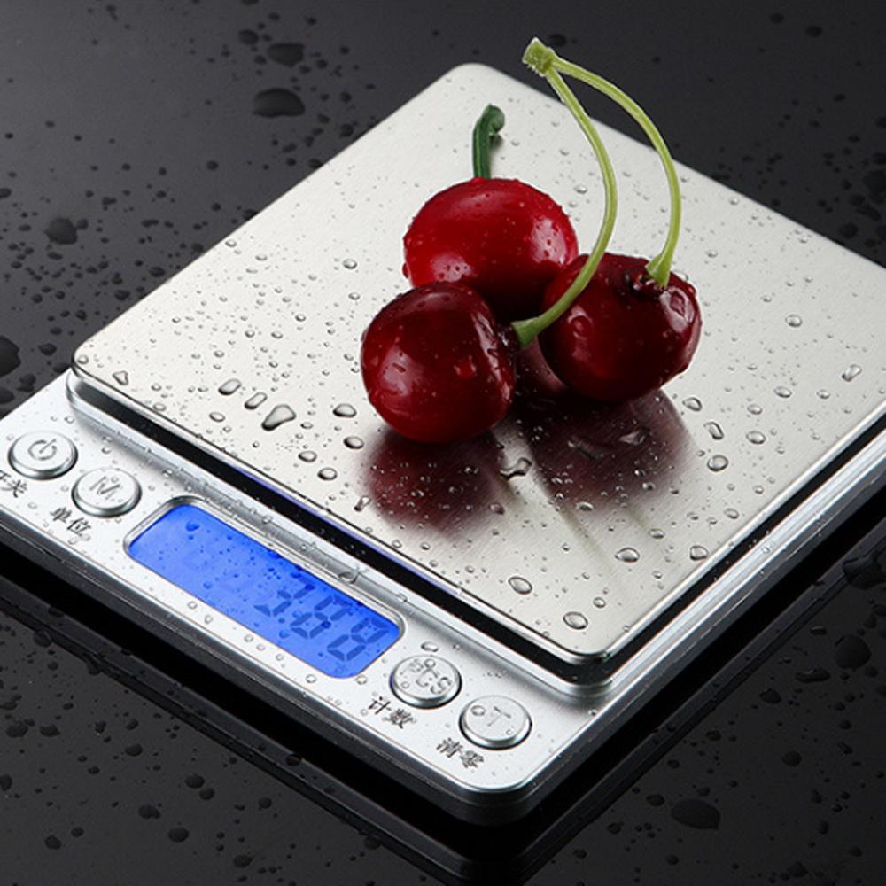 Electronic Scale Platform Digital-Bead-Scale Battery Kitchen Household Portable Without title=