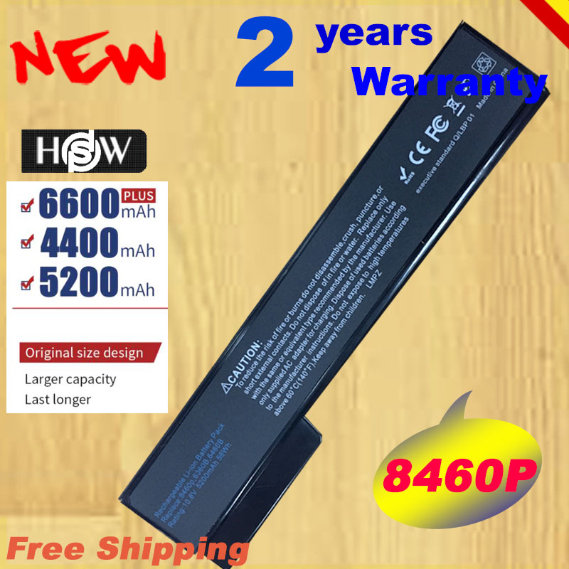 HSW 5200mah <font><b>battery</b></font> for HP 6360T 6360b 8460p 8460w 8470w 8560p <font><b>8570p</b></font> 8760p 8760w 8770p 8770w 6460b 6465b 6560b fast shipping image