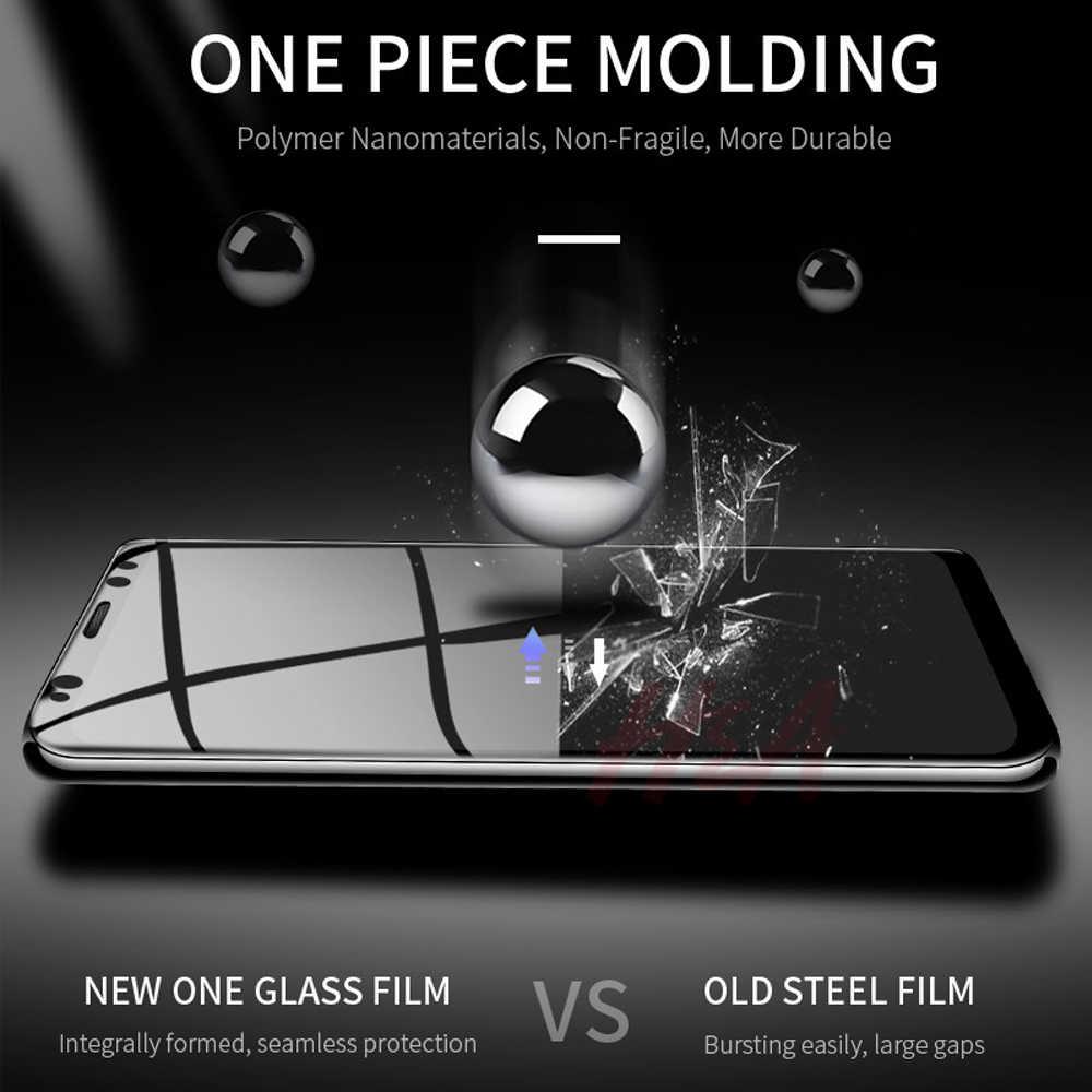 2Pcs untuk Samsung Galaxy S10 S10e S9 S8 Plus Tempered Glass Layar Ponsel Pelindung S5 S6 S7 Edge film Pelindung Smartphone