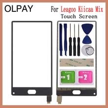 5.5 بوصة 100% جديد المحمول شاشة لمس للهاتف المحمول ل Leagoo Kiicaa مزيج محول الأرقام بشاشة تعمل بلمس الاستشعار لوحة اللمس إصلاح الزجاج