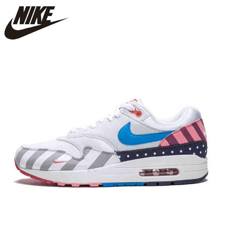 Nike Parra X Nike Air Max 90 Rainbow Amusement Park Running Shoes For Men and Women AT3057-100 36-44