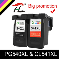YLC PG 540 CL 541 For Canon PG540XL CL541XL Ink Cartridge pg 540 for Pixma MG4250 MG3250 MG3255 MG3550 MG4100 MG4150 printer Ink Cartridges     -