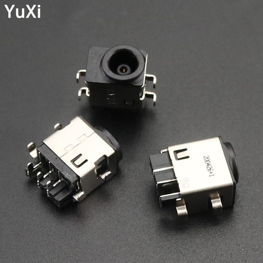 2 pçs portátil dc conector de alimentação tomada porto de carregamento para samsung rv520 rv720 rv530 rc730 rc530 rf411 rf511 rf710 rf711