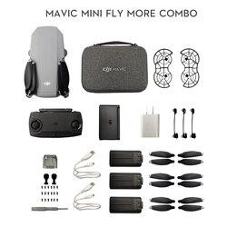 DJI Mavic Mini DJI Fly More Combo MT1SS5 портативный Дрон максимум 30 минут время полета HD видео Датчик видения GPS точный Hover