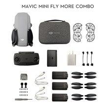 DJI – Mini Drone Portable Mavic Fly More Combo MT1SS5, durée de vol maximale de 30 Minutes, capteur de Vision vidéo HD, GPS, vol stationnaire précis