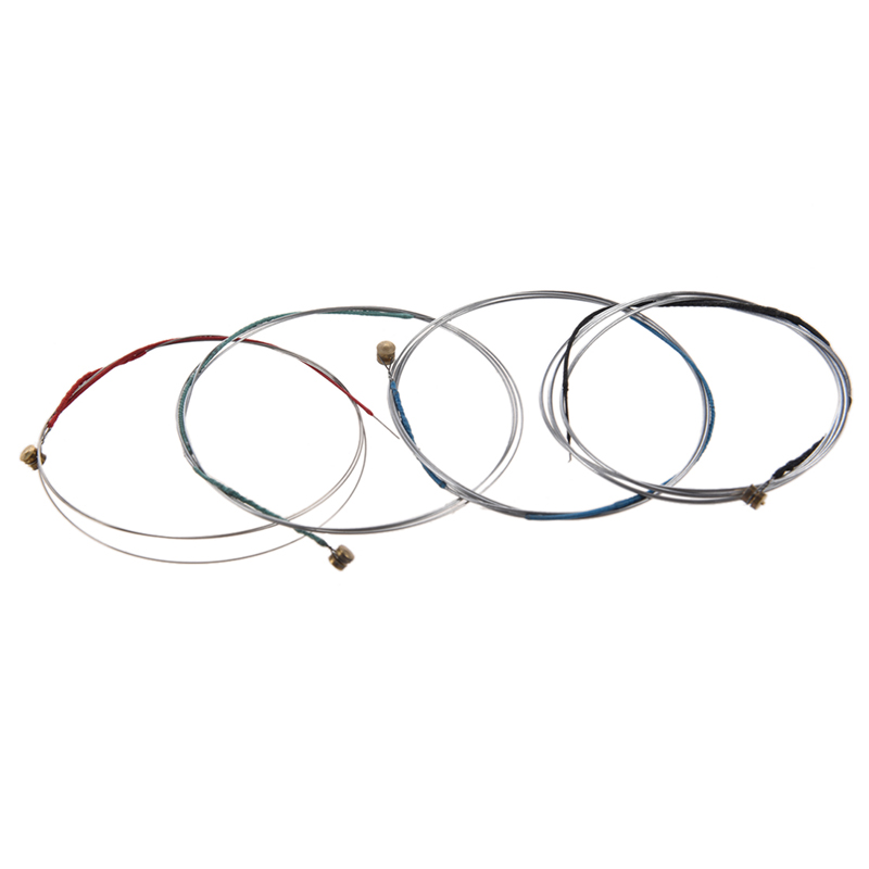 Set Of 4/4 Violin Bowstring Strings (G-D-A-E)