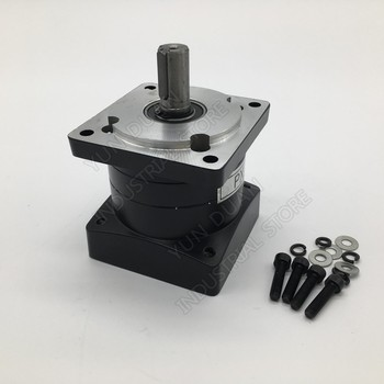 10:1 Ratio Nema34 86mm Planetary Gearbox 10 Speed Reducer  Shaft 14mm Carbon steel Gear for Stepper Motor  Actual Ratio: 10.56:1