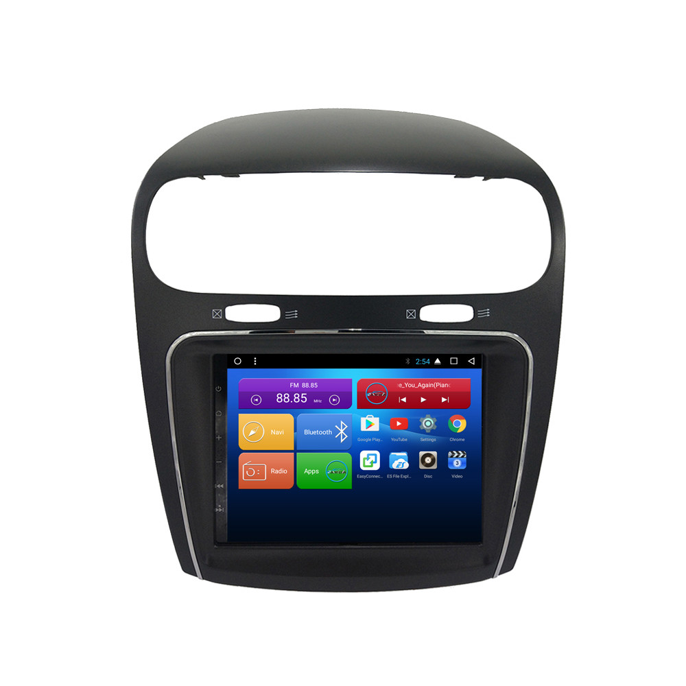 CHOGATH Android 9.0 Car 4+64g Dvd Radio Gps For Dodge Journey For Fiat Freemont CAR Radio Multimedia Audio Stereo