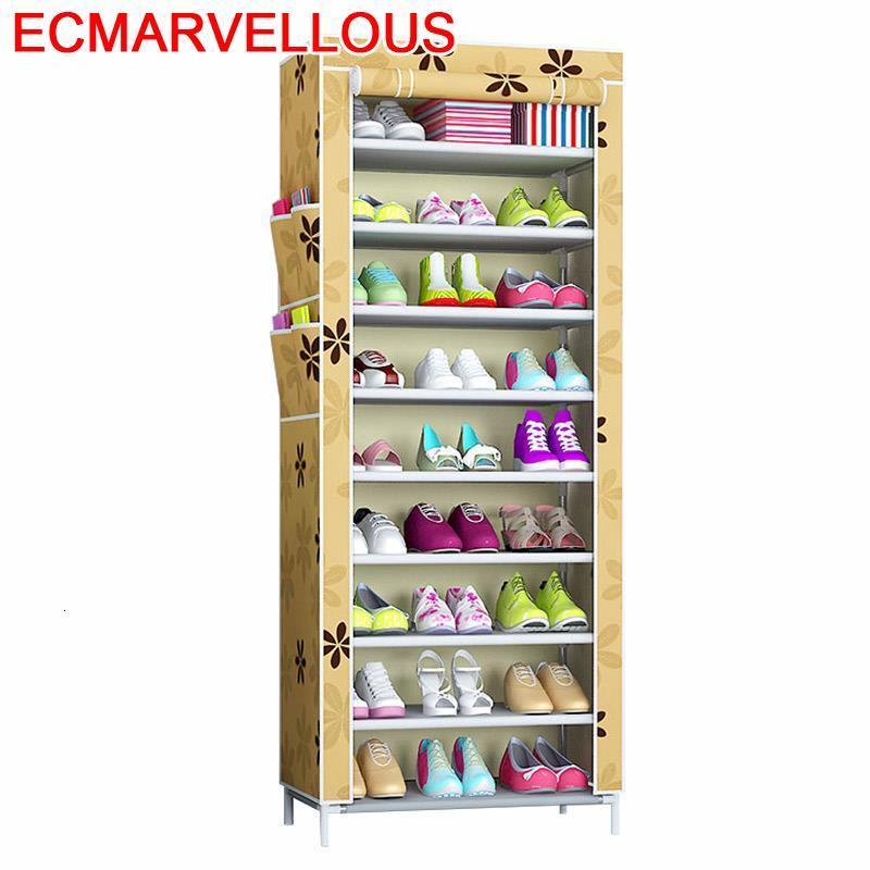 Casa font b Closet b font Rangement Chaussure Armario De Almacenamiento Zapatero Mueble Home Cabinet Scarpiera