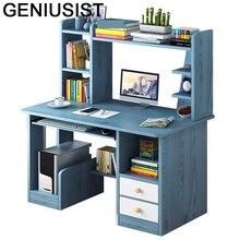 Schreibtischサポートordinateurポータブルescritorio escrivaninhaベッドベッドサイドタブローラップトップスタンドコンピュータテーブル本棚