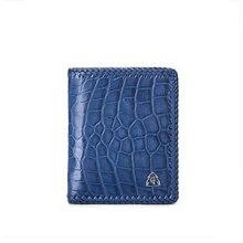 gete New 2019 alligator skin  Short a wallet Business men high-grade crocodile leather large capacity