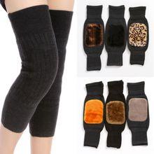 Спортивные длинные гетры, наколенники, толстые теплые пушистые леггинсы, защита для мужчин и женщин, унисекс