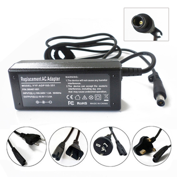 New 65W Battery Charger Power Supply Cord For HP ProBook 430 440 450 455 470 G1 G2 G3 18.5V 3.5A 7.4*5.0mm Smart Pin AC Adapter image
