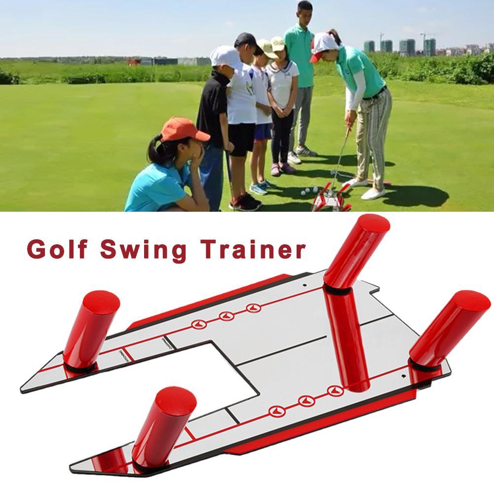 Mirror Of Golf Pro Golf Putting Mirror Training Eyeline Alignment Swing Practice Trainer Aid Profession Training Correct