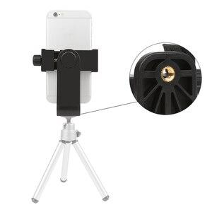 Image 2 - 撮影ユニバーサル 360 アダプタ携帯電話切りホルダー垂直ブラケットスマートフォン Iphone × 8 7 サムスン Xiaomi 電話