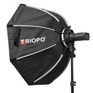 Image 5 - Triopo sombrilla octagonal Speedlite de 65cm con rejilla de panal, caja suave de Flash para exteriores, para Godox V1, Softbox de Speedlite